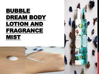 Bubble Dream Body Lotion and Fragrance Mist