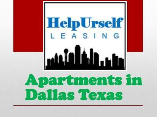 Apartments in Dallas Texas