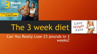 How To Lose the Most Weight in the Shortest Possible Time