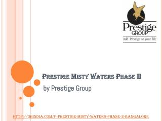 Prestige Misty Waters Phase II Hebbal Bangalore - New Launch Project
