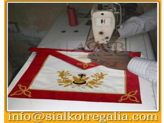 Masonic Rose Croix regalia apron set