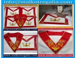 Rose Croix Regalia Apron & collar