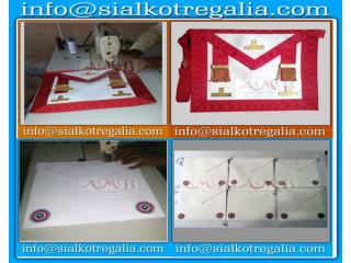 French regalia Fellow Craft apron