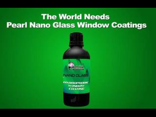 Pearl Nano Glass Coatings - Super Hydrophobic Window Coating