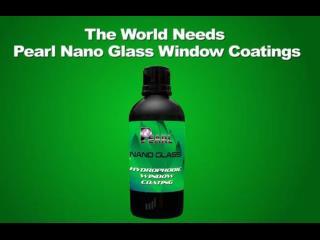 Pearl Nano Glass Coatings - Super Hydrophobic Window Coating