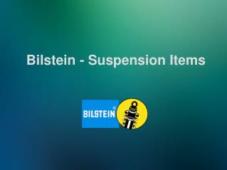 Bilstein - Suspension Items