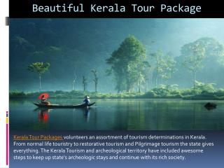 Beautiful kerala tour package