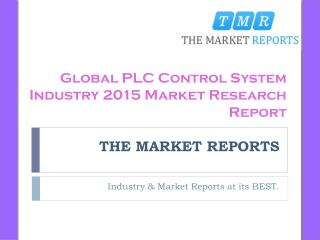 Industry News Analysis of PLC Control System Market and Forecast Report