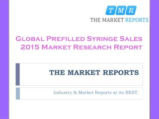 Global and Major Regions 2016-2021 Prefilled Syringe Sales Price and Market Size (Volume and Value) Forecast