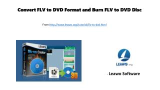 Convert flv to dvd format and burn flv to dvd disc