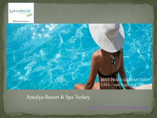 antalya resort & spa Turkey