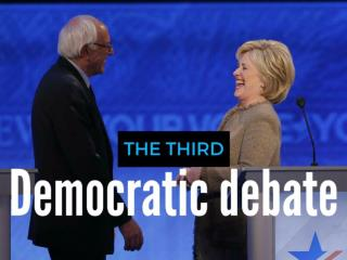 The third Democratic debate
