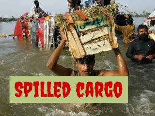 Spilled cargo