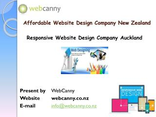 Website Design Company in Auckland, New Zealand|WebCanny