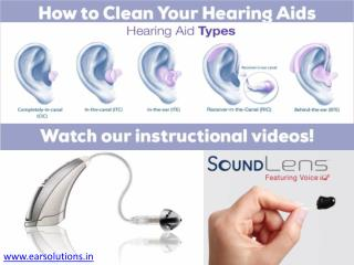 Get affordable hearing aid dealers  EAR Solutions