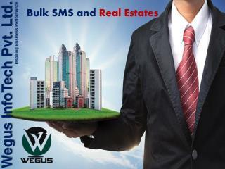Bulk sms for real estates