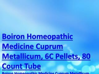 Boiron Homeopathic Medicine Cuprum Metallicum, 6C Pellets, 80 Count Tube