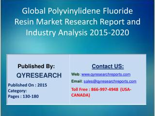 Global Polyvinylidene Fluoride Resin Market 2015 Industry Development, Forecasts,Research, Analysis,Growth, Insights and
