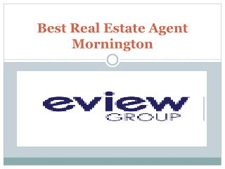 Best Real Estate Agent Mornington