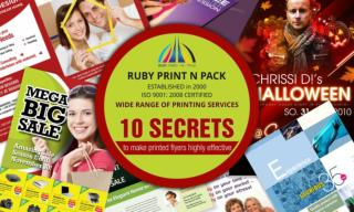 10 Secrets to Make Printed Flyers