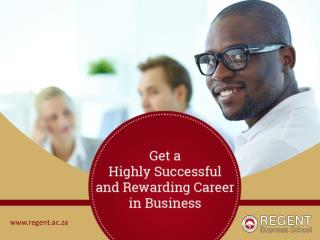 Best Business School in South Africa