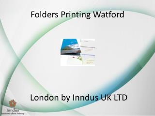 Folders Printing Watford