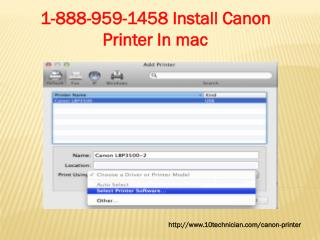 1-888-959-1458 Canon Printer Tech Support| Helpline|Phone support