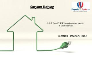 Buy 1, 2 and 2.5 BHK Flats in Satyam Rajyog by Satyam Constructions at Dhanori Pune