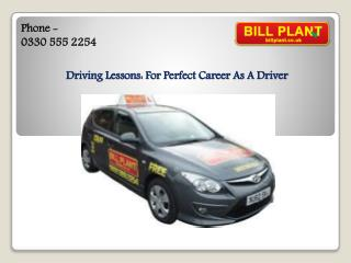 Driving Lesson Manchester