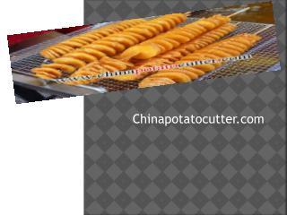 Potato Chip Slicer
