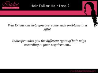 DO YOU TENSE OF HAIR LOSS USE WIGS LOOK NATURAL AND CONFIDENT