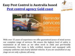 Pest control service gold coast