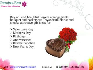 Send Flowers to Trivandrum - trivandrumflorist.com
