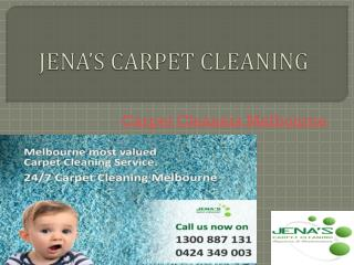 Experienced Carpet Cleaners in Melbourne