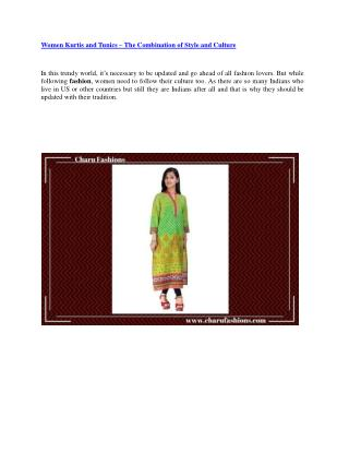 Women Kurtas Style That Will Never Go Out Of Style!