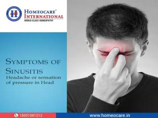 Natural Homeopathy for Sinus Difficulties