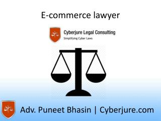 e-commerce lawyer