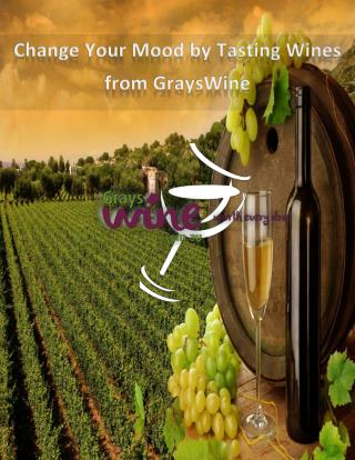 Lighten up Your Mood with Finest Quality Wines from GraysWine.com.au