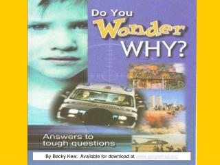 Have you ever wondered why bad things happenHave you ever experienced an accident or death in your familyMaybe you have