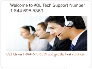 1-844-695-5369 Aol Customer Service Number