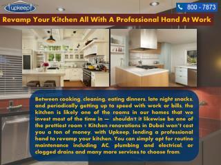 Best kitchen Renovation Service in Dubai