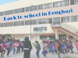 Back to school in Benghazi