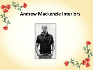 Residential Interior Designers - Andrew Mackenzie