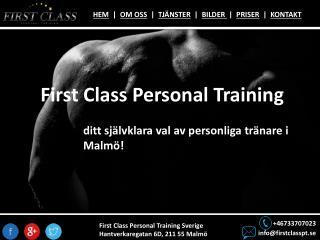 Personlig Träning Malmö | PT Malmö