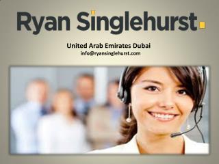 Ryan Singlehurst Marketing And Sales Training