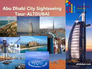Abu Dhabi City Sightseeing Tour-ALTDUBAI