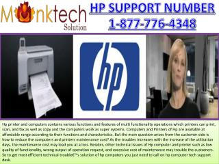 Printers for HP Support Number 1-877-776-4348 toll free