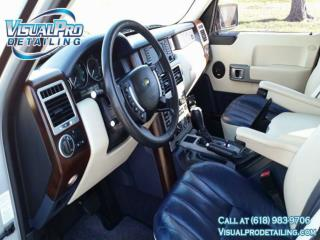 The Interior detail by Visual Pro Detailing.