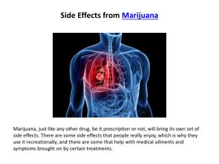 physical effects of marijuana