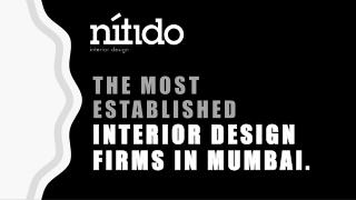 The most  established  interior design  firms in Mumbai.